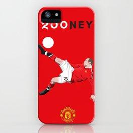 Rooney 250 iPhone Case