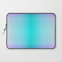 Purple Blue Black Ombre Hexagons Bi-lobe Contact binary Laptop Sleeve