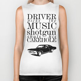 Superantural - Driver picks the music... Biker Tank
