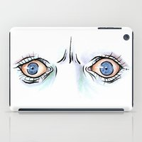 horror iPad Cases featuring Horror by Paige Holloway