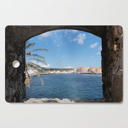 The View To Curacao Cutting Board