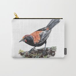 New Zealand Saddleback Carry-All Pouch