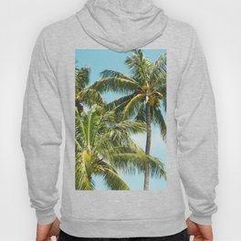 Coconut Palm Trees Sugar Beach Kihei Maui Hawaii Hoody