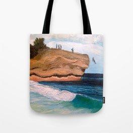 Shipwreck Rock, Kauai Tote Bag