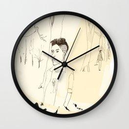 Young Londoner Wall Clock