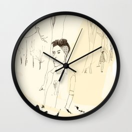 Young Londoner Wall Clock