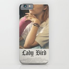 Lady Bird (2017) Minimalist Poster iPhone Case