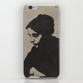 Portrait of an unknown woman (Portret van een onbekende vrouw) (1913) print in high resolution by Sa iPhone Skin