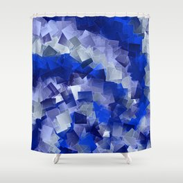 little sqares and rectangles pattern -1- Shower Curtain