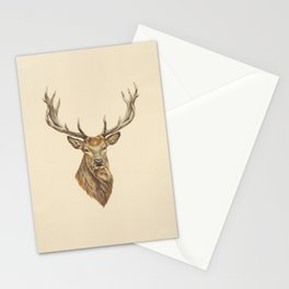 Red Stag Stationery Cards