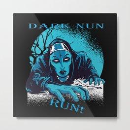 Dark Well Metal Print