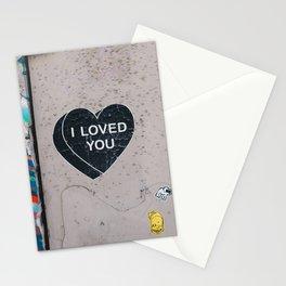 I LOVED YOU Stationery Cards