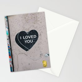 I LOVED YOU Stationery Cards