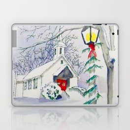Christmas Church Laptop & iPad Skin