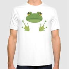 frog Mens Fitted Tee White MEDIUM