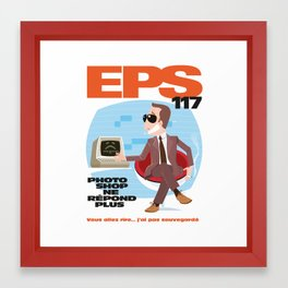 EPS 117 - Photoshop ne répond plus Framed Art Print