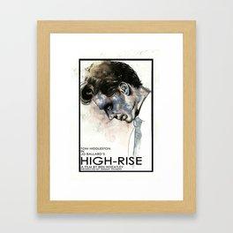 Tom Hiddleston in High-Rise Framed Art Print