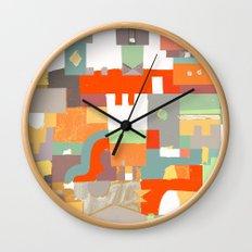Structura 8 Wall Clock
