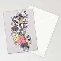 Meowy Wowy Stationery Cards