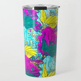 The Alligator Grins / The Peacock Weeps Travel Mug