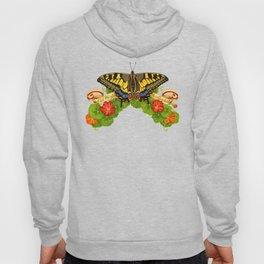 Old World Swallowtail Butterfly Hoody