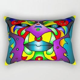 Ashanti - Yellow Rectangular Pillow
