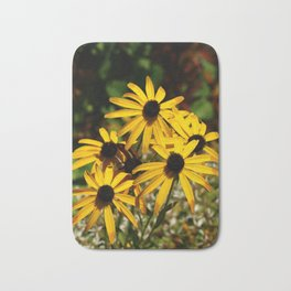 Backed Eyed Susan In Autumn Bath Mat