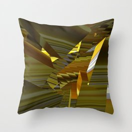 Shattered Shards Throw Pillow