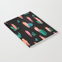 Naked girls and cactus Notebook