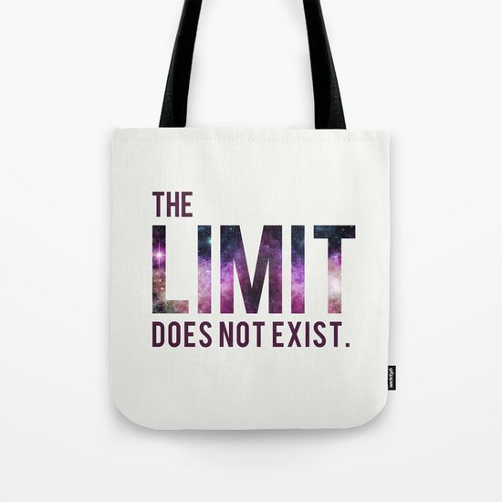 The Limit Does Not Exist - Mean Girls quote from Cady Heron Tote Bag