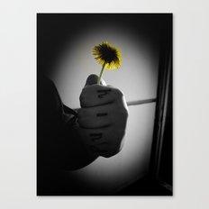 Kind Flower Canvas Print
