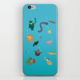 Ocean Fish iPhone Skin