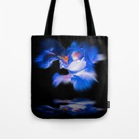 lily Tote Bags featuring Lily  by Walter Zettl