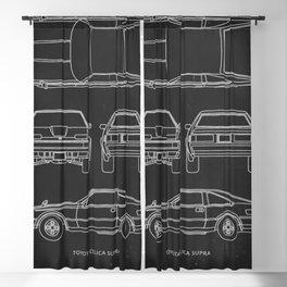Celica XX Supra Blackout Curtain