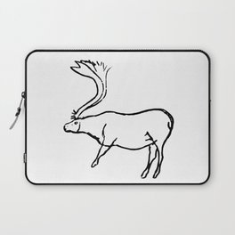 French Paleolithic deer Laptop Sleeve