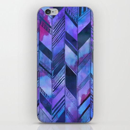 PATTERN {chevron 008} iPhone & iPod Skin
