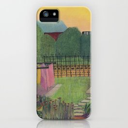 Time to Bring in the Clothes iPhone Case