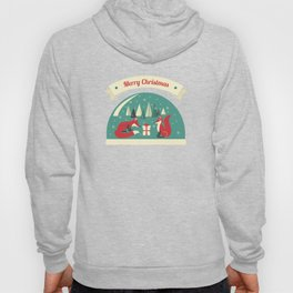 Christmas Foxes Hoody