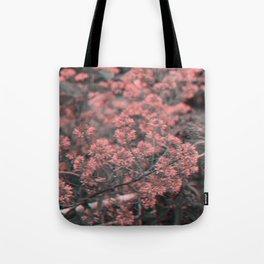 Anaglyph Florals Tote Bag