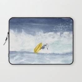 Abstract Surf Art Painting Laptop Sleeve