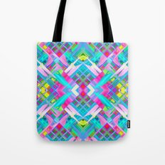 Colorful digital art splashing G481 Tote Bag