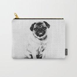 Pug dog Sketch Digital Art Carry-All Pouch