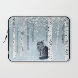 Norwegian Winter Forest Laptop Sleeve