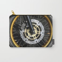 gold wheel Carry-All Pouch