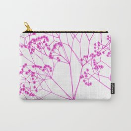 Elegant, boho floral drawing. Carry-All Pouch