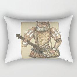 Banjo Cat Rectangular Pillow
