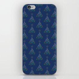 Christmas Trees Pattern iPhone Skin