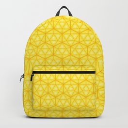 d20 Icosahedron Honeycomb Backpack