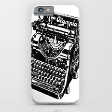 Old Typewriter Slim Case iPhone 6s