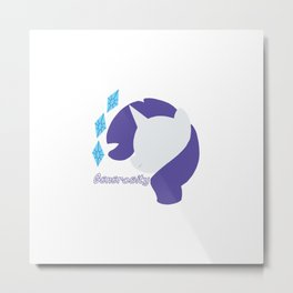 Rarity Metal Print